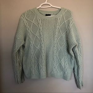 Mint Topshop Sweater